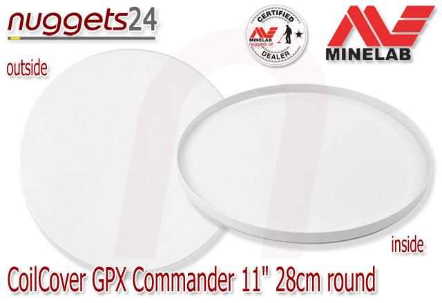 Minelab Coil Cover Skidplate Spulenschutz 28 cm 11