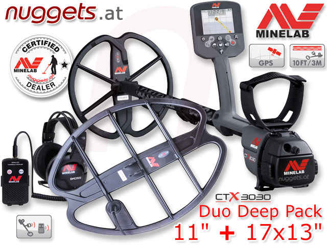 Minelab CTX3030 CTX 3030 Duo Deep Pack 11