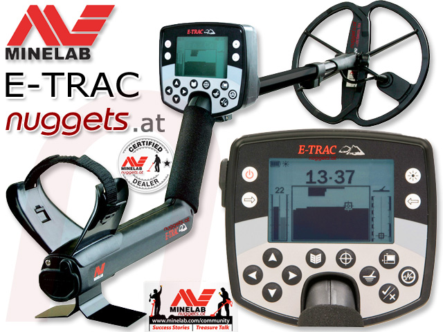 MINELAB ETRAC PRO EDITION bei www.nuggets.at im Sonderangebot www.nuggets24.com
