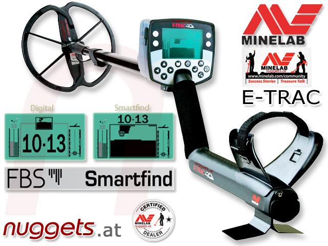 Minelab OnlineShop www.nuggets.at Metal Detector Metalldetektor