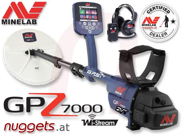 Minelab GPZ 7000 Gold Detector www.nuggets24.com