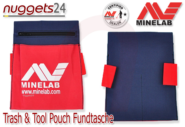 Minelab Tool + Trash pouch Fundtasche Tasche nuggets24.com