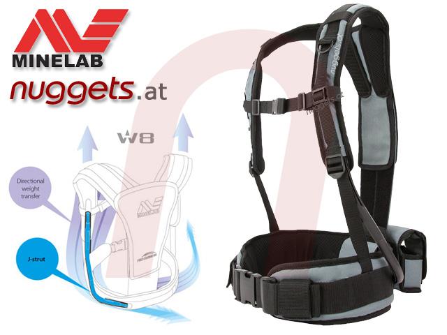 Minelab ProSwing Pro Swing Gurtzeug Harness www.nuggets.at