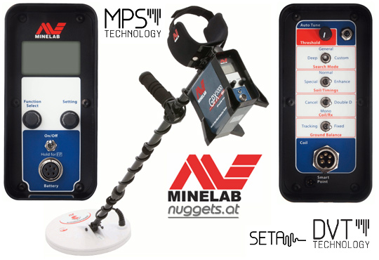 Minelab GPX 5000 Gold Detector Golddetector www.nuggets.at Onlineshop
