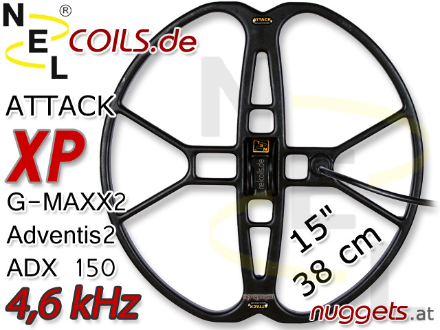 NEL AttackSuchspule XP GMAXX ADX Adventis Coil Coils Sonde Sonden www.nuggets.at