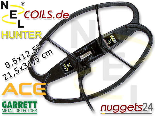 NEL Hunter Suchspule Garrett ACE Coil Coils Sonde Sonden www.nuggets.at