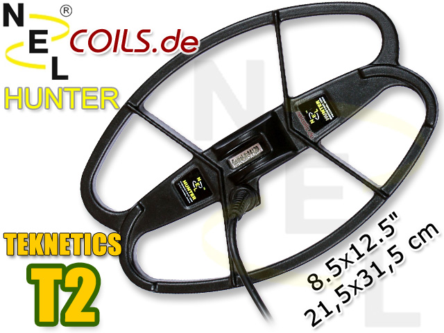 NEL Hunter Suchspule Teknetics T2 T 2 Coil Coils Sonde Sonden www.nuggets.at