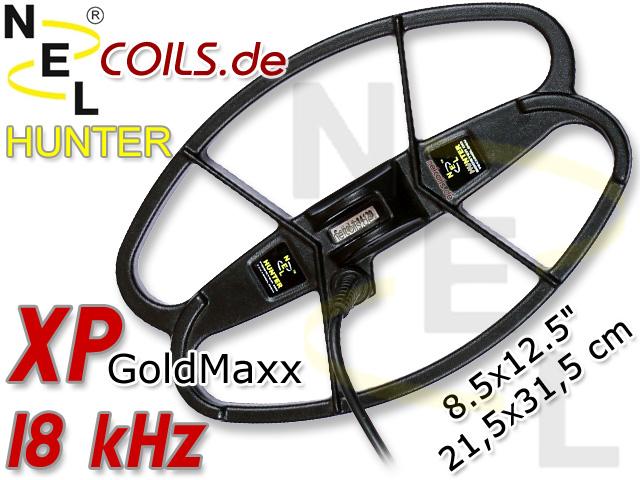 NEL Hunter Suchspule XP GoldMaxx Gold Maxx GoldMax Coil Coils Sonde Sonden www.nuggets.at
