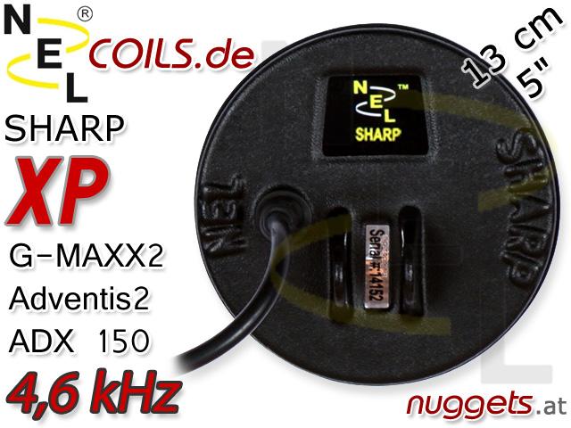 NEL Sharp Suchspule XP G-Maxx GMaxx Adventis ADX Coil Coils Sonde Sonden www.nuggets.at
