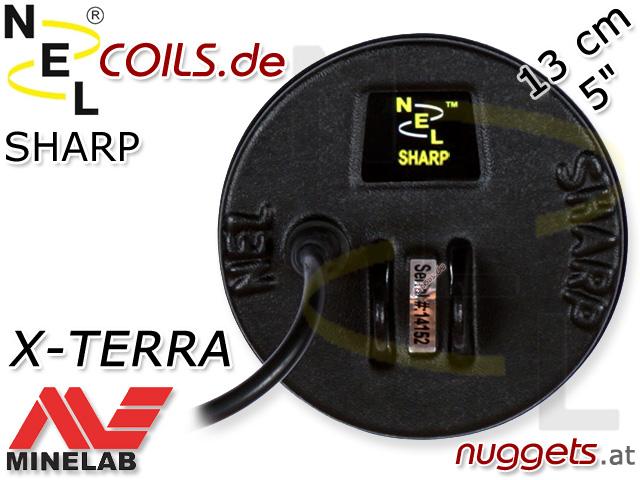 NEL Sharp Suchspule Minelab X-Terra XTerra Coil Coils Sonde Sonden www.nuggets.at