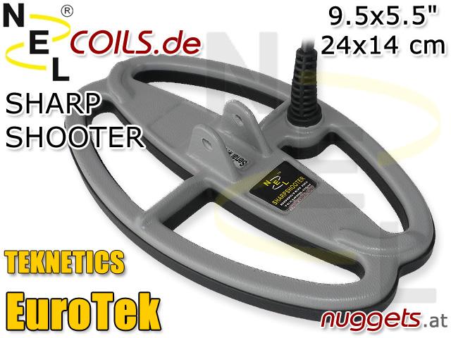 NEL SharpShooterSuchspule Teknetics EuroTek Coil Coils Sonde Sonden www.nuggets.at