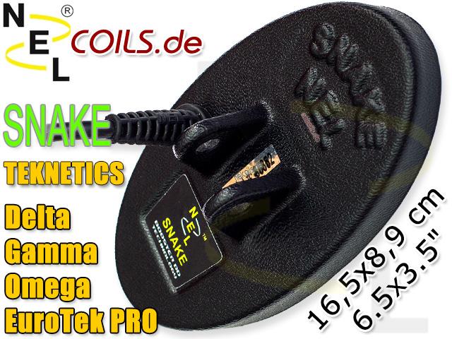 NEL Snake Suchspule Teknetics EuroTek Pro Gamma Delta Omega nuggets24com
