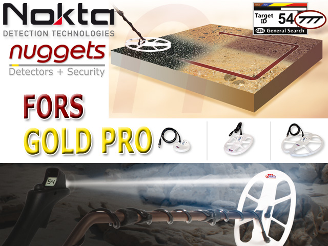 Nokta FORS Gold Detector Golddetector for Africa www.nuggets.at Metaldetector Super Store
