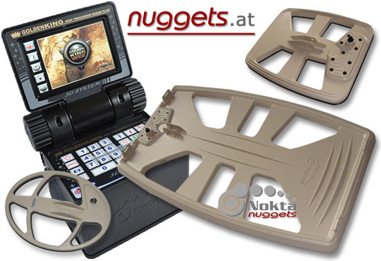 NOKTA 3 Spulen SET online bei www.nuggets.at NOKTADETCTOR Generalvertretung