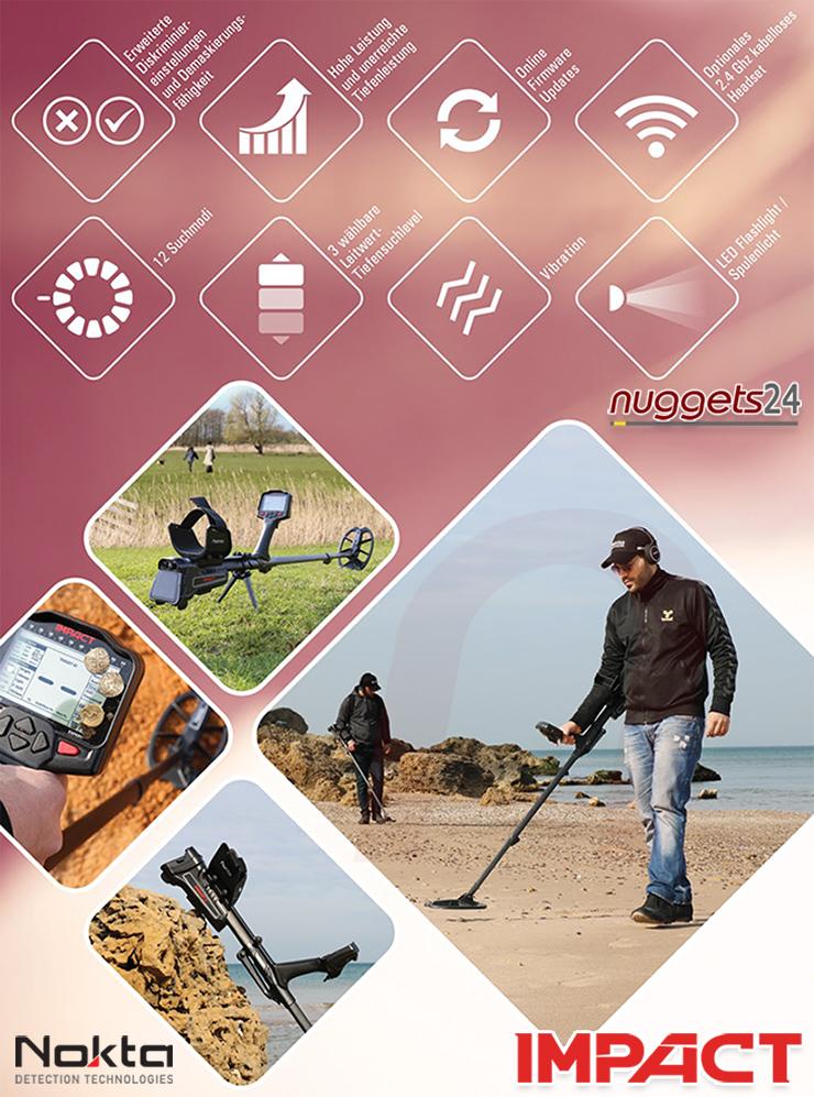 Nokta Impact features Deutsch Detail nuggets24.de