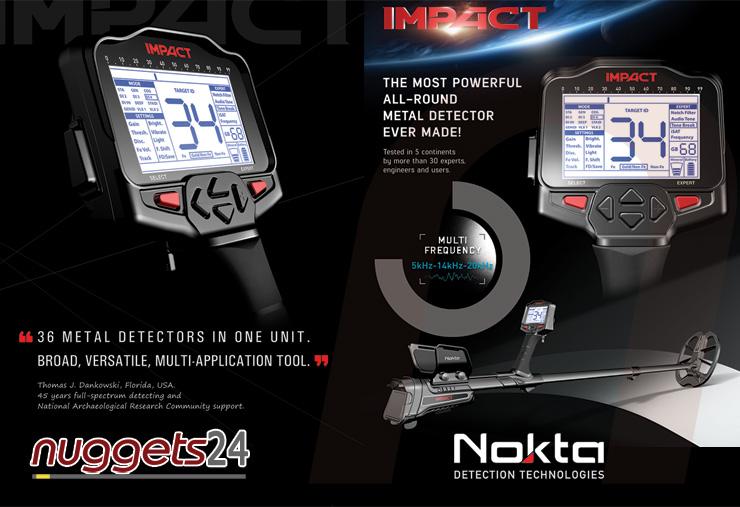 Nokta Impact Metal Detector www.nuggets24.com