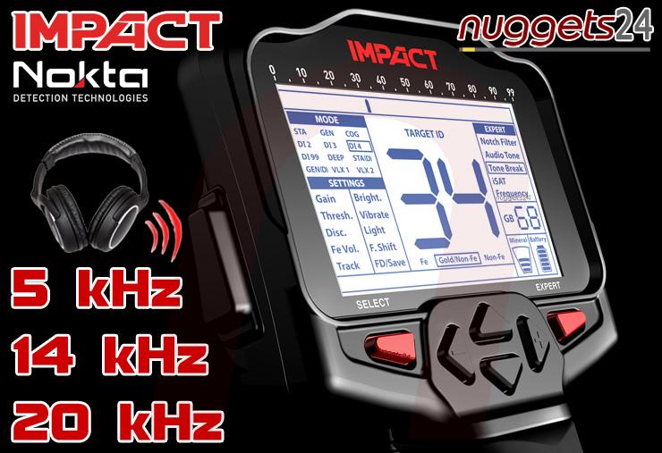 Nokta IMPACT kauft man bei www.nuggets24.de
