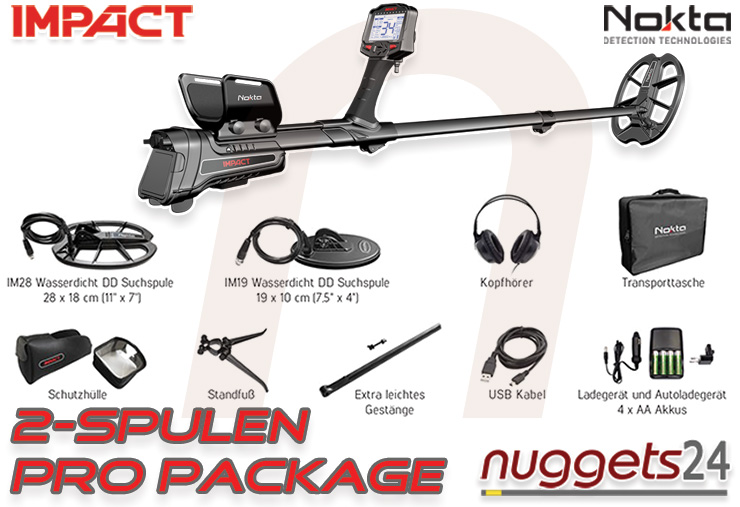 Nokta Impact english details nuggets24com delivery PRO PACKAGE
