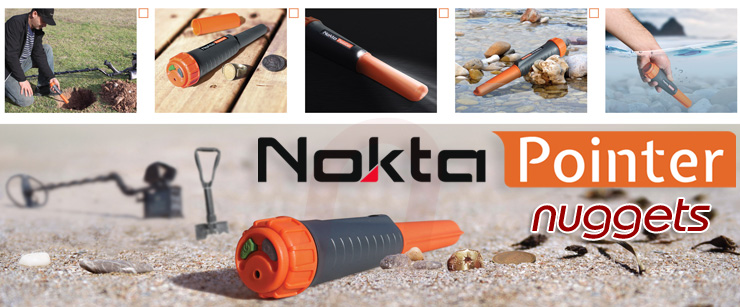 Nokta Detectors NoktaPointer Pin Pointer www.nuggets.at