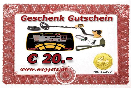 Gutschein 20 Euro www.nuggets.at