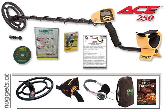 ACE 250 Sports Pack Metalldetektor