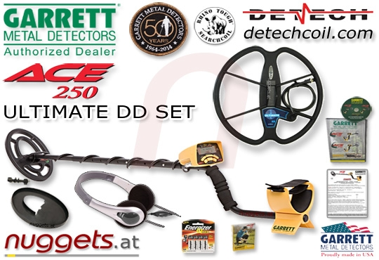 ACE 250 Ultimate DD Set Metalldetektor