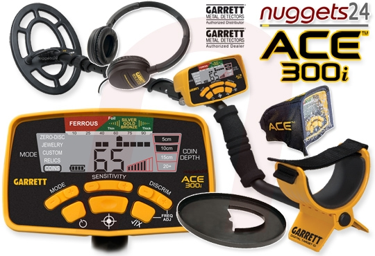 ACE 300i ACE300i Premium SET Metalldetektor