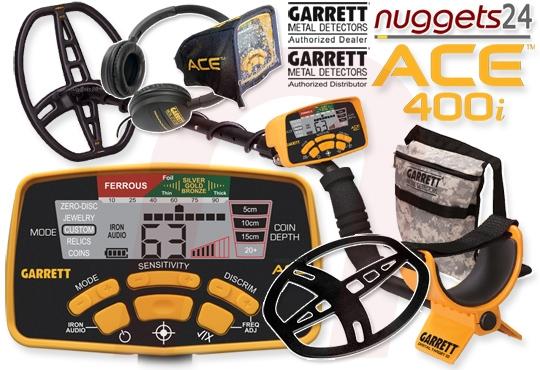 ACE 400i ACE400i Premium SET Metalldetektor