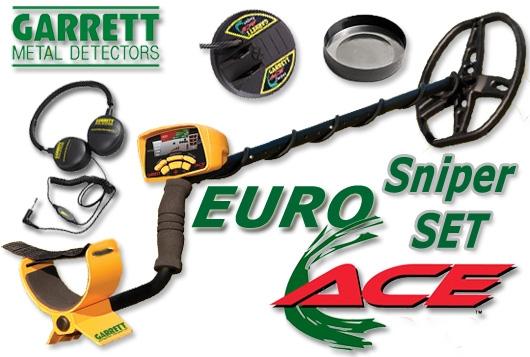 EUROACE Sniper SET Metalldetektor