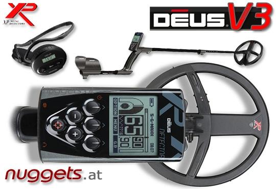 DEUS 22 RC WS4 V3 3.2 Premium SET Metalldetektor