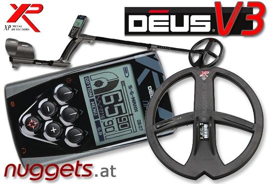 DEUS 22 RC V3 3.2 Profi SET Metalldetektor