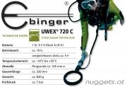 Ebinger UWEX ® 720 C  UnterWasser Metalldetektor