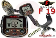 Fisher F19 F 19 camo Metalldetektor