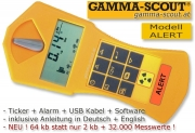 GAMMA-SCOUT ALERT Geigerz�hler Nuclear Radiation Counter