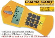 GAMMA-SCOUT Geigerz�hler Nuclear Radiation Counter