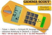 GAMMA-SCOUT ONLINE Geigerzähler Nuclear Radiation Counter