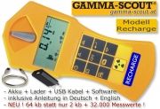 GAMMA-SCOUT RECHARGEABLE Geigerzähler Nuclear Radiation...