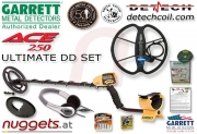 GARRETT ACE 250 Ultimate DD Set Metalldetektor