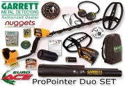 GARRETT EURO ACE 350 ProPointer Metalldetektor DUO SET