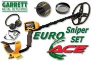 GARRETT EUROACE  Sniper SET Metalldetektor