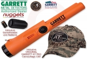 GARRETT  PRO POINTER AT Camo Cap Edition waterproof...