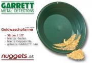 """Goldwaschpfanne 38 cm 15"""" patentiert von GARRETT"""