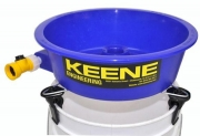 Keene Blue Bowl Gold Concentrating Sch�ssel