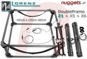 Lorenz Double Frame KIT 1x1m Coil Doppel Rahmen SuchSpule