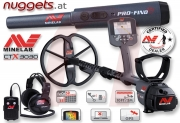 MINELAB CTX 3030 ProFind25 SET GPS Metalldetektor