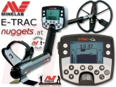 MINELAB E-TRAC PRO Edition Metalldetektor