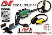 MINELAB Excalibur II Unterwasswer UW + Land Detektor