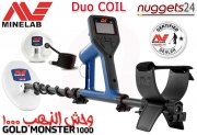 Minelab GOLD MONSTER 1000 Gold Detector Goldmonster DUO...