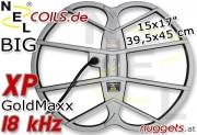 "NEL BIG XP GoldMaxx Suchspule Coil15x17 "" 39,5x45 cm"