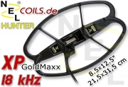 NEL Hunter XP GoldMaxx 18 kHz Suchspule Coil 8.5x12.5...